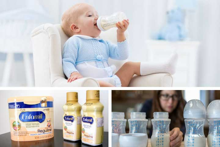 What is the best formula milk for constipated babies